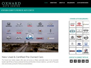 Oxnard Auto Center's Website